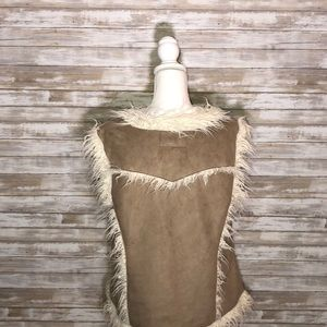 Powder River Outfitters Jackets & Coats - Powder River Outfitters faux fur vest